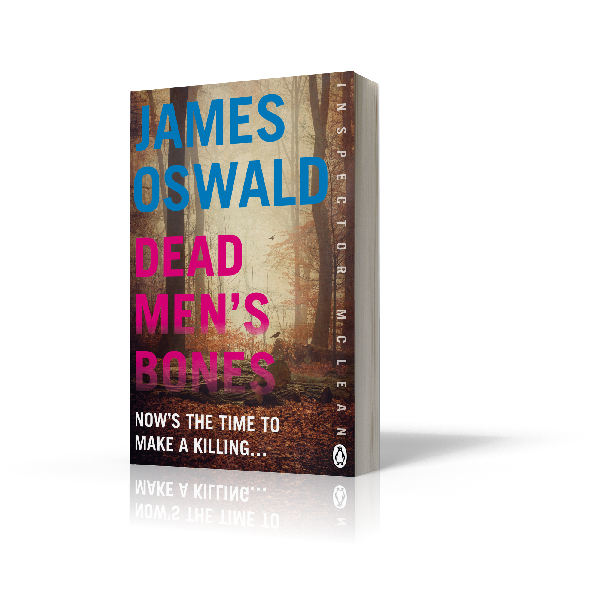 Cover Image for Dead Men's Bones by James Oswald