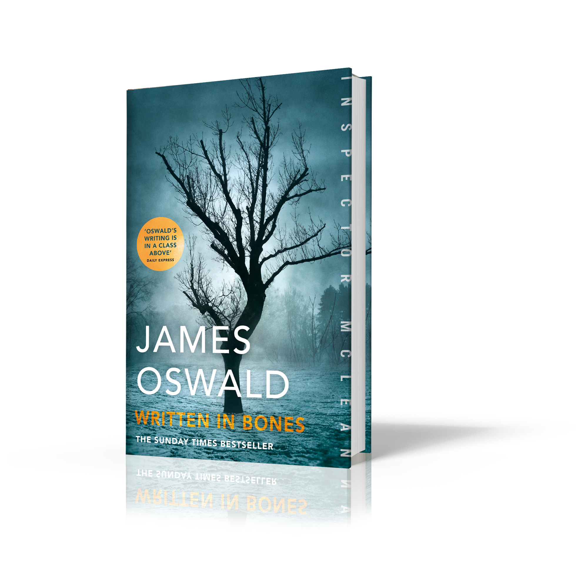 Cover image for Written in Bones by James Oswald