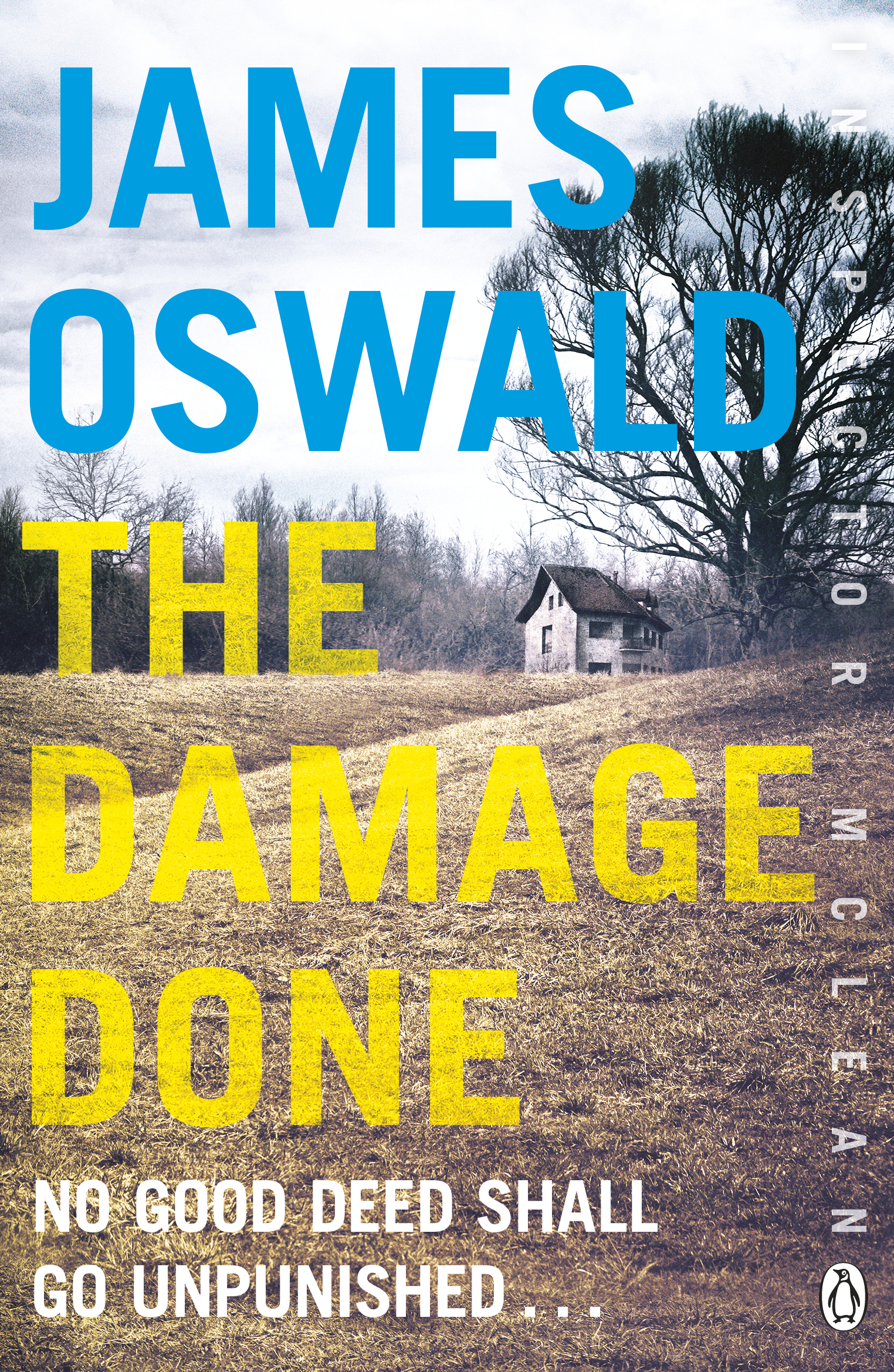 cover image for The Damage Done by James Oswald