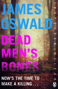 Cover image of Dead Men's Bones by James Oswald