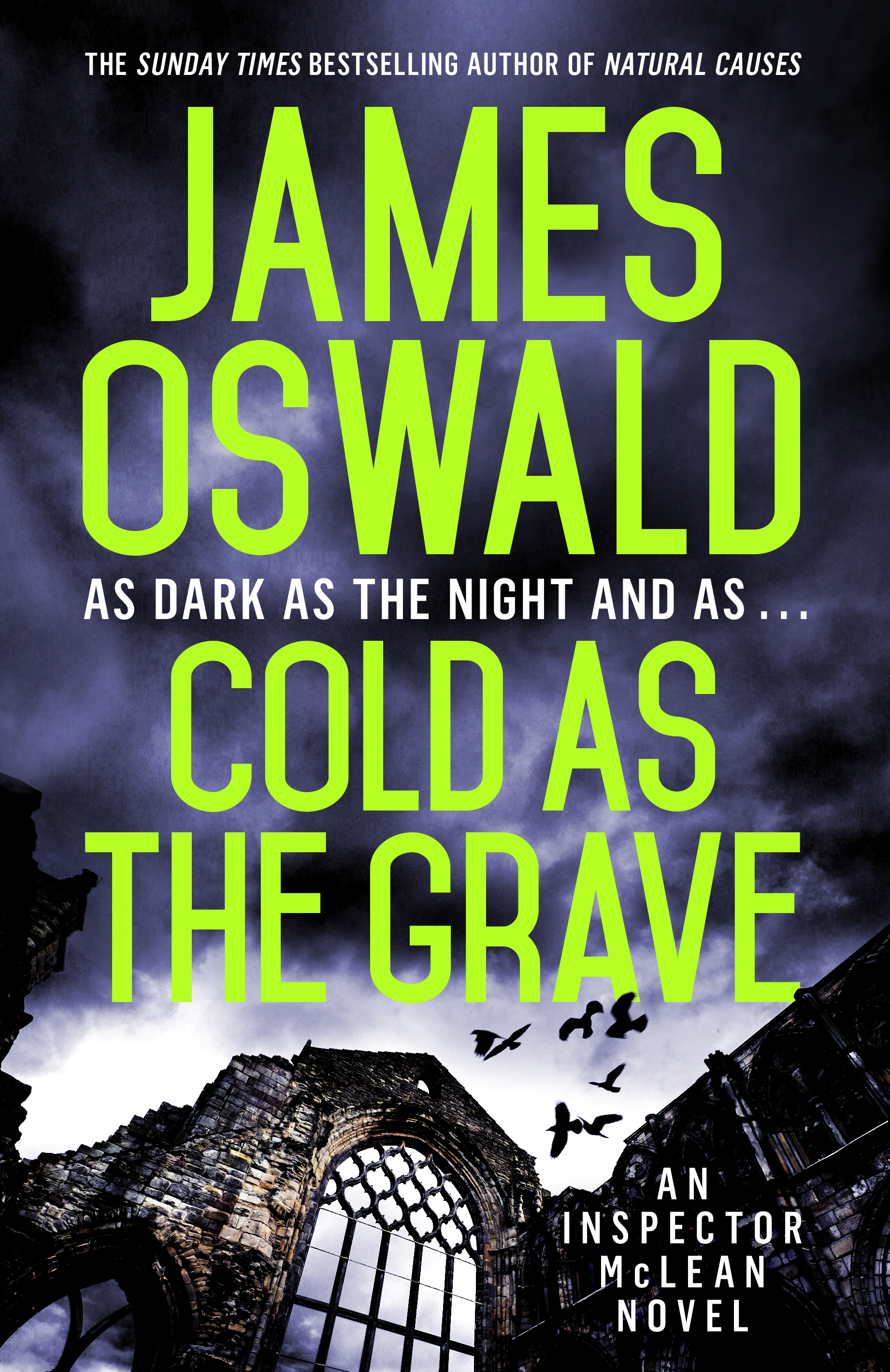 Cover image for Cold As The Grave by James OSwald